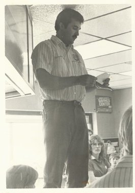Tom Gann At His Store